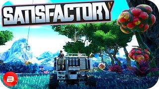 Unlocking Tier 5 & 6 with the Space Elevator in Satisfactory! (Satisfactory Early Access Gameplay)
