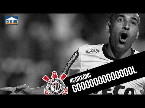 Gol do Corinthians. Sheik abre o placar na Arena