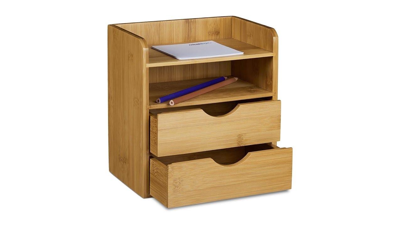 schreibtisch organizer mit schubladen online kaufen. Black Bedroom Furniture Sets. Home Design Ideas