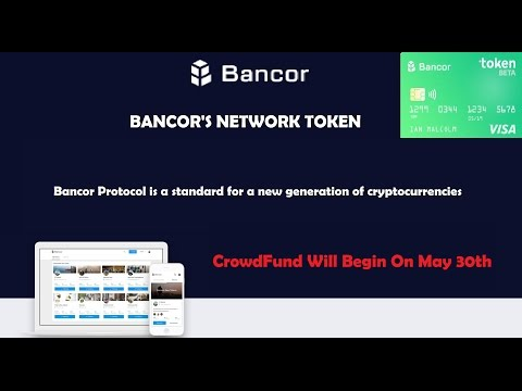 Bancor Protocol - Ico 30th May 2017. Smart Token Use Cases.
