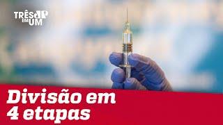 Ministério da Saúde divulga plano de vacinação contra COVID-19