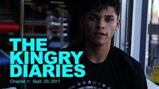 Gambar cover A DAY WITH BOXER RYAN GARCIA  ; THE KINGRY DIARIES, CHAPTER 1