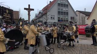 preview picture of video 'Fasnachtsumzug Hagenbach Kreis Germersheim Germany 17.2.2015 T4'