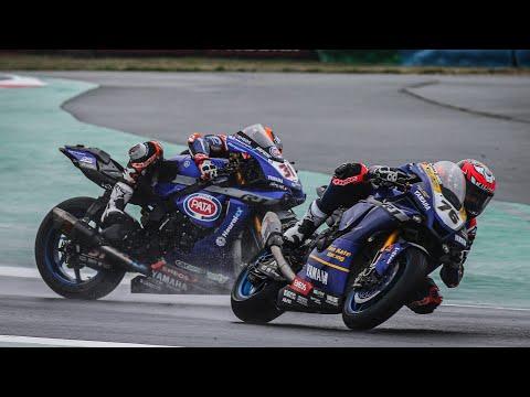 激しすぎるハイサイド映像。スーパーバイク世界選手権 第7戦フランス(マニクール・サーキット)