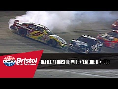 Wreck 'em Like it's 1999: Earnhardt Sr. and Labonte Battle at Bristol