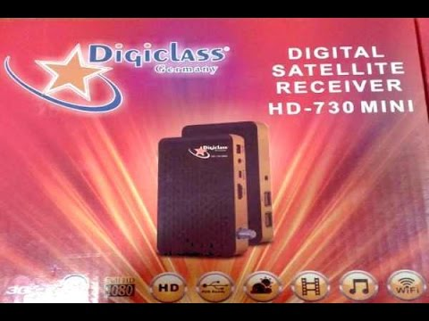ملف قنوات جهاز Digiclass 730 HD MINI شهر ابريل 2017