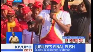 Jubilee's final push: Jubilee holds its final rally in Nakuru