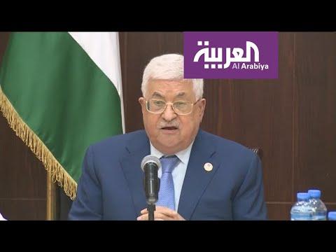 العرب اليوم - شاهد: محمود عباس يدعو المنتخب السعودي إلى اللعب على أرض فلسطين