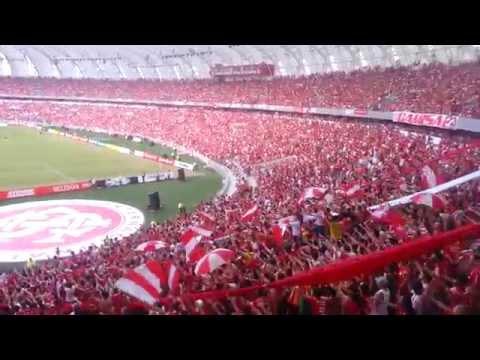 """""""Camisa Vermelha - Inter vs Peñarol - Inauguração Novo Beira Rio"""" Barra: Guarda Popular • Club: Internacional"""