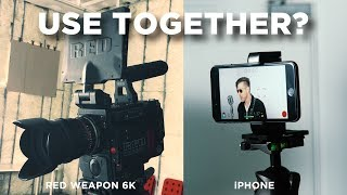 Using a RED Camera with an iPhone