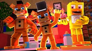 Minecraft: WHO'S YOUR FAMILY? - FAMÍLIA ANIMATRONIC (FIVE NIGHTS AT FREDDY'S)