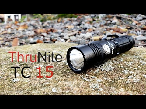 Thrunite C15 Flashlight Review