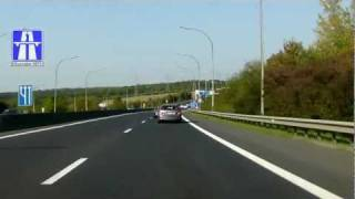 preview picture of video 'A3 + B3: F Frontière - Luxembourg (2.5x)'