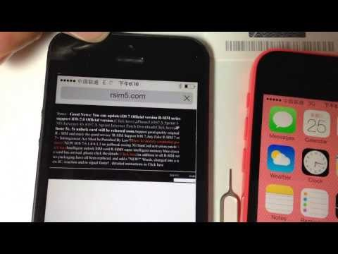 Download R-SIM 8 PRO IPHONE 5 IOS 7 UNLOCKING AND ACTIVATION HD Mp4 3GP Video and MP3