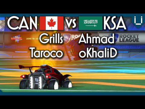 New Top Tier 2v2 Team? | Canada vs Saudi Arabia | Rocket League