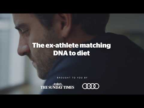Audi senses: taste - personalising diet based on your DNA