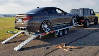 DECATTED 720HP BMW M5 F10!! LOUD SOUNDS, Revs, Drag Racing!