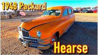 Copart Walk Around 1-25-2020 + 1948 Packard Flat 8 Hearse!