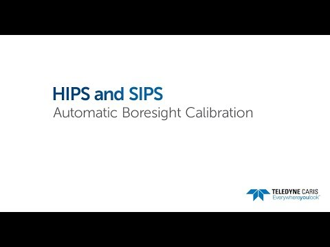 HIPS and SIPS - Automatic Boresight Calibration