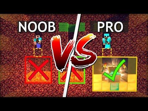 NOOB vs PRO v MINECRAFTU! NEVYBER SI ŠPATNOU PEKELNOU CESTU!
