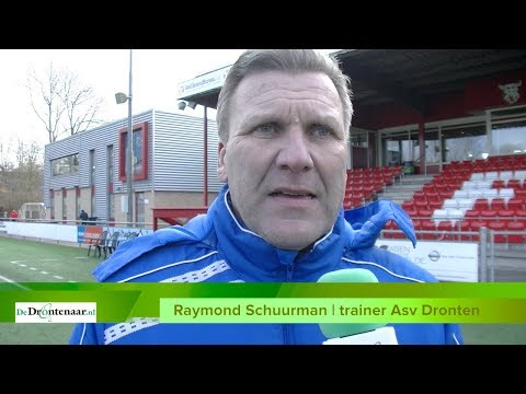 VIDEO | Asv Dronten-trainer Raymond Schuurman wil nu 'the best of the rest' worden