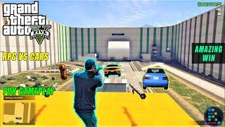 GTA V | Amazing Win in RPG vs CARS Gameplay