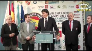 Presentación a los medios del Campeonato del Mundo de Pesca Submarina Vigo 2012
