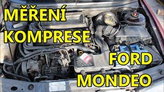 Měříme kompresi   Bude OK?   Ford Mondeo Mk1 1.8 TD 65kW