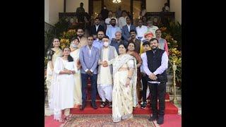 21.07.2021: हिंदी काश्मीर संगम' या संस्थेच्या वतीने आयोजित कार्यक्रमात पुस्तक प्रकाशन, साहित्यिक व समाजसेवक यांचा सन्मान;?>