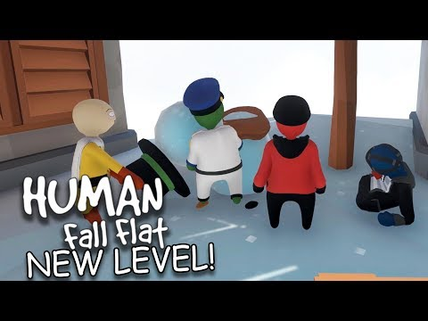NEW MAP, SAME DERPS   Human Fall Flat Multiplayer Part 17