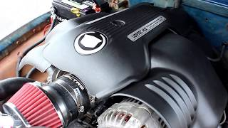1950 Chevy 3100 LS Swap, Patina, Restomod, Rat Rod Pickup -Blue Collar-