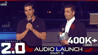 2.0 Audio Launch - Part 9 | Rajinikanth, Akshay Kumar | Shankar | A.R. Rahman