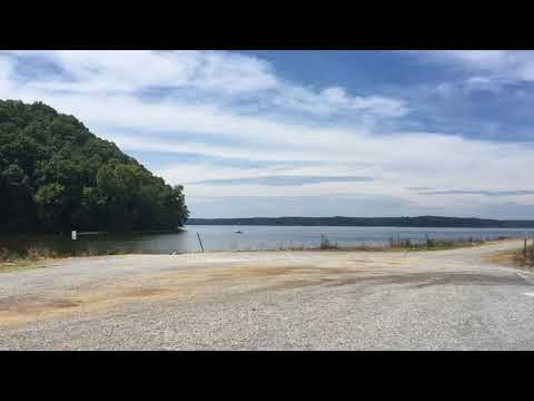 The boat ramp area has a dock also