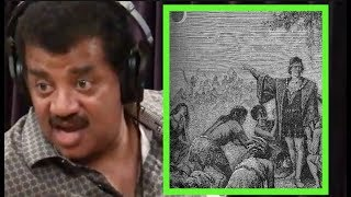 Neil DeGrasse Tyson - How Christopher Columbus Was A Dick - Joe Rogan