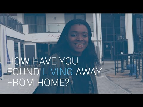 How have you found living away from home? | University of Southampton