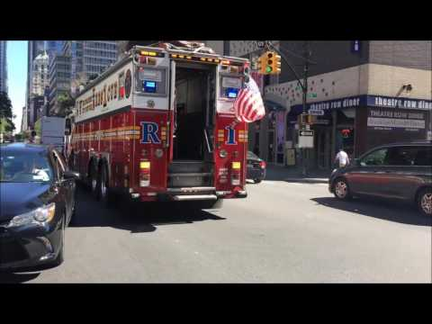 "COMPILATION OF FDNY RESCUES AND FDNY SQUAD COMPANIES ""ONLY"" RESPONDING IN NEW YORK CITY.  02 Mp3"