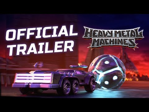 Heavy Metal Machines Official Trailer thumbnail
