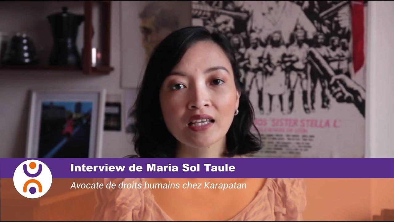 Maria Sol Taule: «C'est le moment opportun pour lutter pour le droit à la santé»
