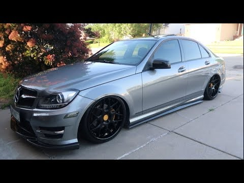 MERCEDES-BENZ C300 GETS NEW AVANT GARDE FORGED WHEELS!