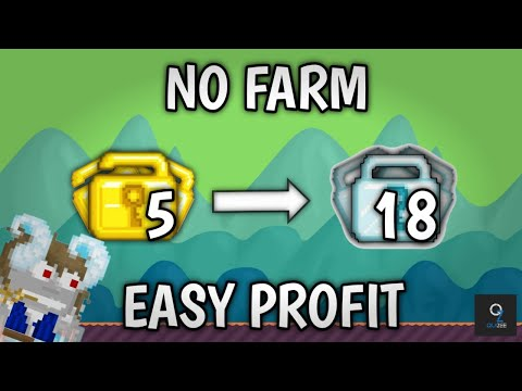 PROFIT GROWTOPIA 2020| NO FARMING (HARD SELL) | GROWTOPIA