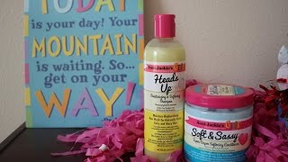 Aunt Jackie's Girls (Shampoo + Conditioner) Review| Kids Hair Care