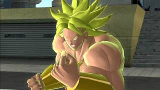 Dragon Ball Raging Blast 2: LSSJ Broly and LSSJ3 Broly Special Quotes