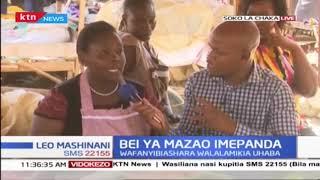Bei ya mazao ya shambani Nyeri yatarajiwa kupanda kutokana na kiangazi