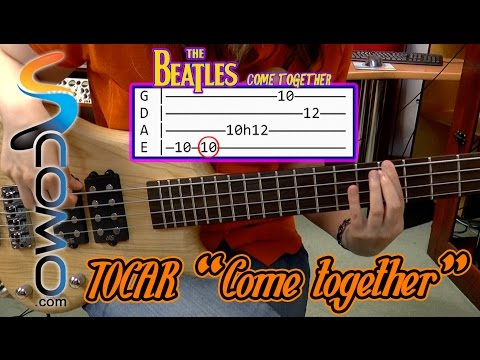 Tocar Come Together De Los Beatles - Tutorial De Bajo Eléctrico Mp3
