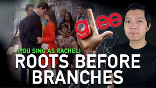 Roots Before Branches (Finn Part Only - Karaoke) - Glee