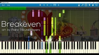 Breakeven (arr. By Piano Tribute Players) W Sheet Music