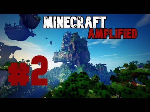 Duky / Minecraft Amplified #2 - Průzkum krajiny