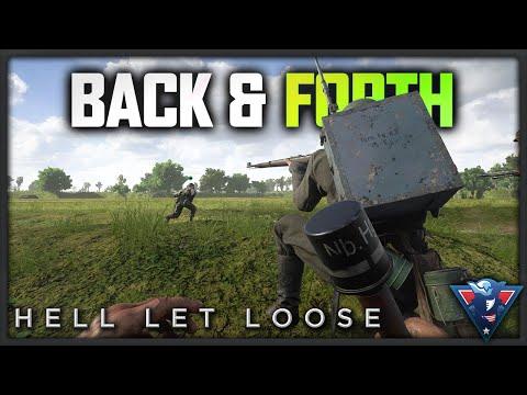 EPIC BACK & FORTH BATTLE | Hell Let Loose Gameplay