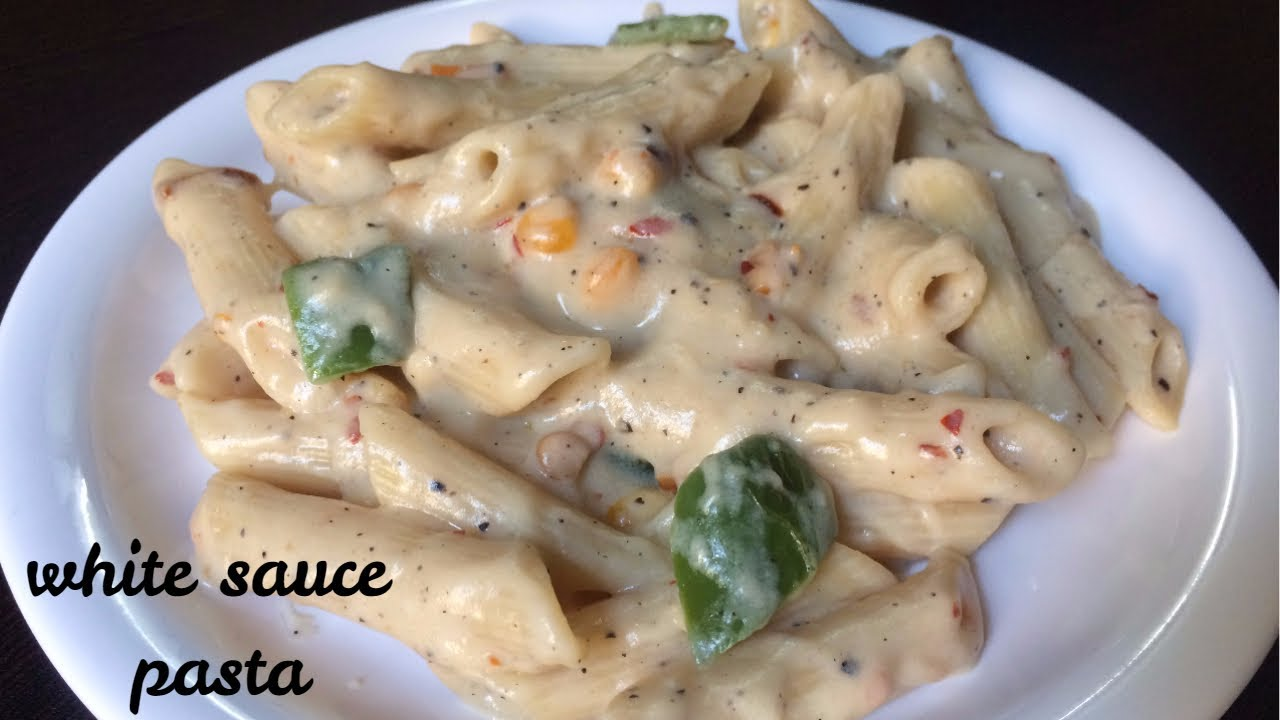Pasta in White Sauce | White Sauce Pasta | Indian Style white sauce pasta Recipe