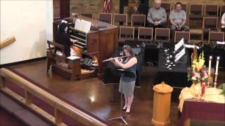 If Thou Art Near May 2015  -  Flute Organ